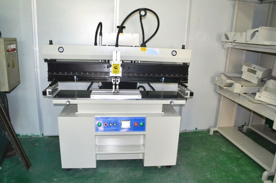 1.2 Meter SMT Semi Automatic Solder Paste Printer For LED Red glue 320*1300mm