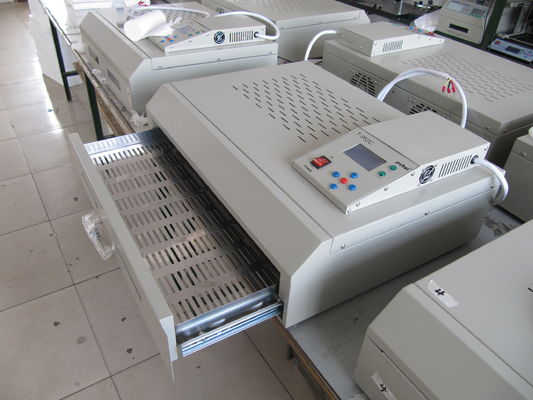 T962C With Exhaust 2500w SMT Reflow Oven 400*600mm Infrared IC Heater BGA SMD SMT Heating Sation